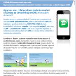 Número de Carteirinha via SMS | Mais uma novidade da MetLife para você!