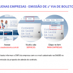 IMPORTANTE- BOLETOS PRORROGADOS | SAUDE Sistema