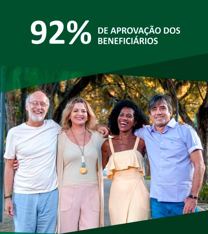 MedSênior - 92% de aprovação dos beneficiários