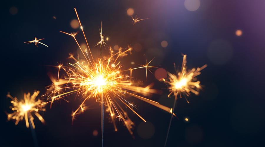 Tenha fé em 2021! Feliz Ano Novo!